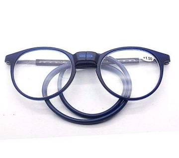 Hanging Neck Foldable Magnetic Reading Glasses-  2.00+ Power Added