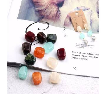 10pcs Natural Stone Beads Ball For for Jewelry Making