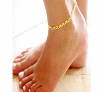 1 pcs Simple Arrow Shape Female Anklets