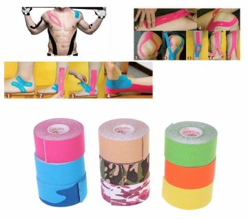 5meter  Athletic Sport Injury Muscle Strain Elastic Bandage Tape