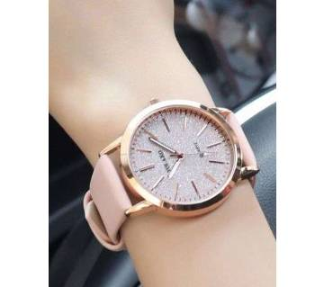 Leather Quartz Casual Watches For Women