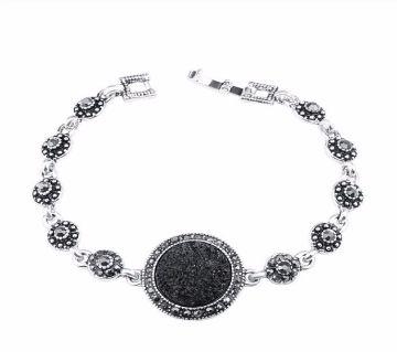Black Crystal Bracelets For Women