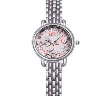 Steel Bracelet Quartz Watch For Women