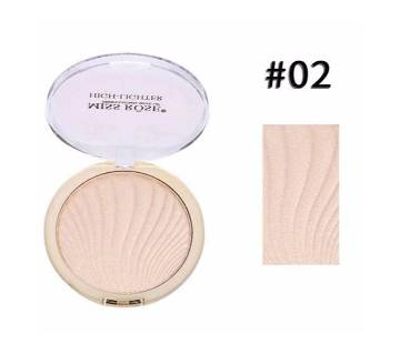 1pcs Miss ROSE Shimmer Baking Highlighter Powder