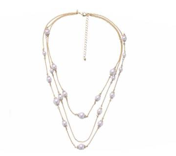 White Color Multi layer Chain Infinity Charm Anklets For Women