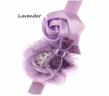 1PCS Elastic Flower Hairband For Baby