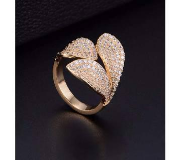 Adjustable Cubic Zirconia Ring For Women