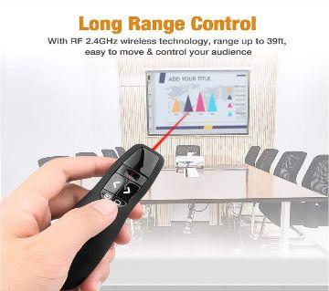 RLP400 2.4G 2.4Ghz USB Wireless Presenter Laser Pointer PPT Remote Control for Powerpoint Presentation