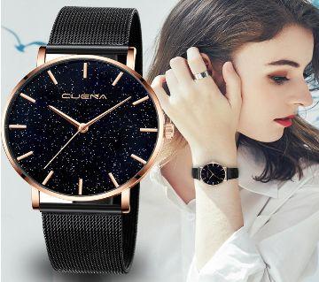 Cuena Luxury Starry Diamond  Alloy Quartz Watch For Women