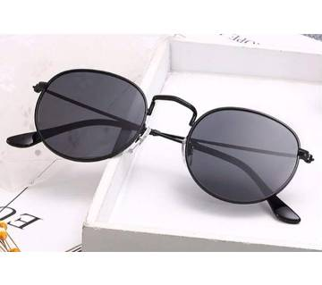 Vintage Oval Retro Clear Lens Sunglasses