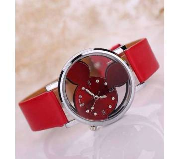 Cute Leather Quartz Watch for Girl