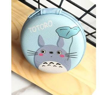 Cartoon Pattern Bag Pouches Storage Box For Memory Card USB Cable Earphone