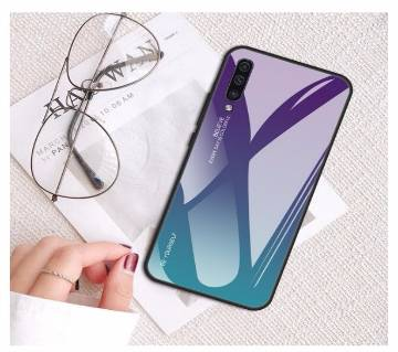 Tempered Glass Phone Case For Samsung Galaxy For M20