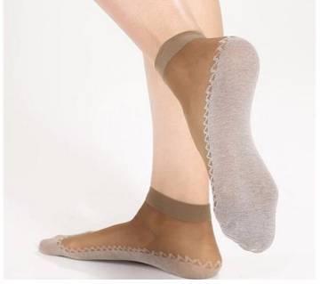 1 Pairs Transparent Elastic Women Socks