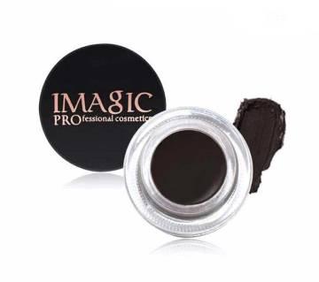 1 Pcs IMAGIC Black colour Eyebrow Enhancer with Brush 4g China