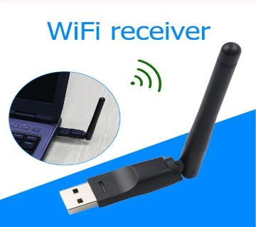 Mini 150Mbps USB 2.0 Wireless LAN Network  WiFi Receiver for PC Computer