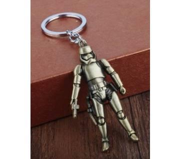 Star War Full Metal 7 Cm  Creative keychain