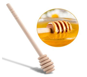 Wooden Honey spoon Long-handled Jam stick Beekeeper Take the honey