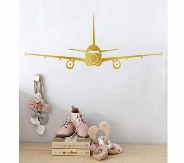 Large 3D Airplane Wall Stickers Home Decor Decoration
