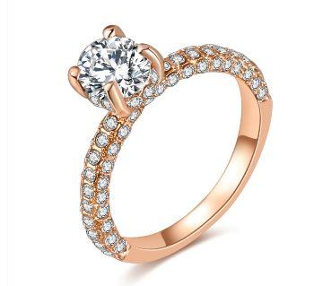 Full Round Zircon Cute Finger Ring For Women