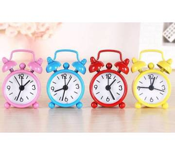 1Pc Mini Cute Portable Electronic Alarm Clock