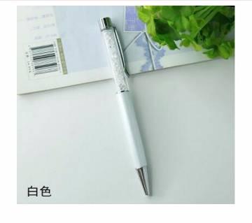 Flattop Crystal Ballpoint Pen