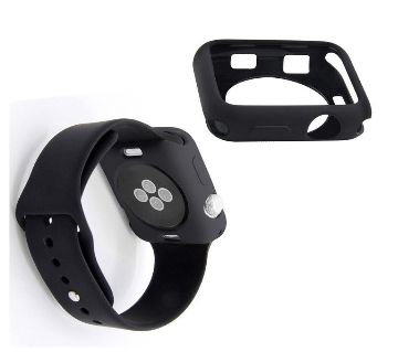 42mm Soft Silicone Protective Watch Case For  iWatch Series 2,3