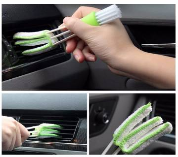 Car Cleaning Brush Air-condition Cleaner Computer Keyboard Vent Window Supplies Versatile Cleaning