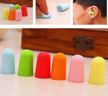 1 Pairs Comfort Soft Foam  Sleep Noise Reduction Prevention Earplugs