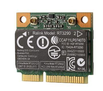 150Mbps 2.4Ghz RT3290 802.11B/G/N Wireless Wlan WIFI + Bluetooth BT 3.0 Half Mini PCI-E Card for HP CQ58 M4 M6 4445S DV4