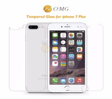 2pcs Front + Back 9D Tempered Screen Protector For Iphone 7 Plus
