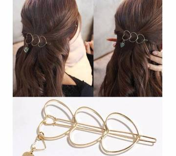 Minimalist Girls Charm Hair Clip