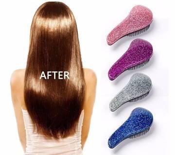 Glitter Magic Handle Tangle  Hair Styling Comb