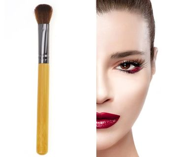 1Pcs Wood Handle Synthetic Face Contour Foundation Powder Makeup Brushes
