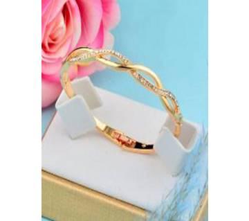 SINLEERY Charm Cubic Zirconia Bracelets For Women