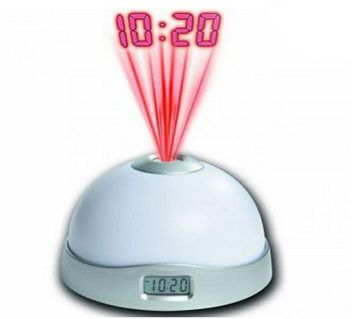 Colorful Projection Clock