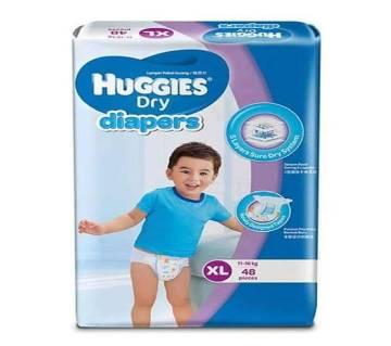 Huggies Dry Diaper - Extra Large - (11-16kg) - 48 pcs