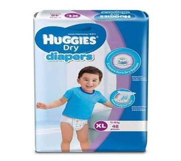 Huggies Belt System Baby Dry Diaper L(9-14 kg) - 60 Pcs