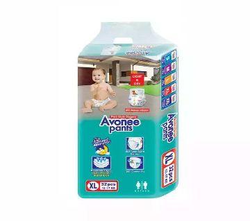 Avonee Maxi 4 Baby Diaper Pants XL 12-17 kg 32 pcs