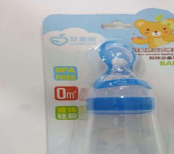 Spoon weaning Bottle feeder Blue