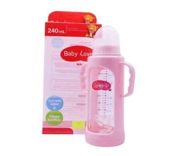 Baby love feeding Bottle-240ml -pink