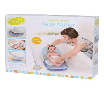 Mothers Touch Baby Bather