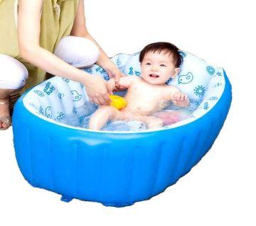 Inflatable Baby Bathtub - Blue