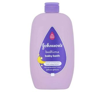 Johnsons Bedtime Baby Bath 500 ml (Made in UK)