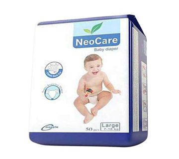 NeoCare Belt System Baby Diaper L (7-18 kg) - 50pcs