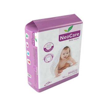 NeoCare Belt System Baby Diaper M (4-9 kg) - 50pcs