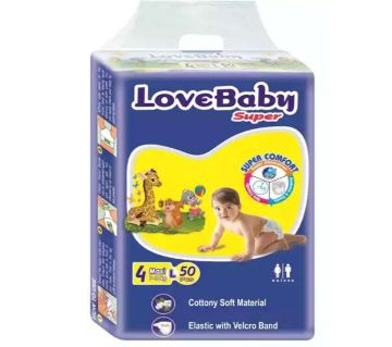 Love Baby Super Diaper 4 Maxi Belt L 7-18 kg