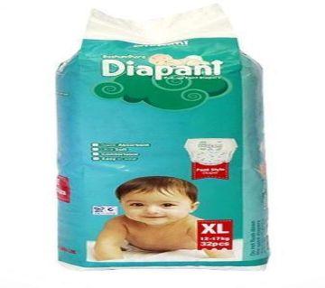 Bashundhara Diapant Diaper(12-17Kg) 32 pcs
