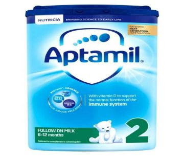Aptamil 2 Follow On Milk Powder Formula 6-12 Months 800g