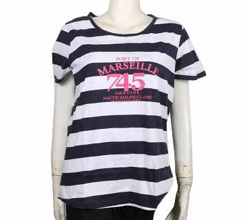 Ladies Stripe T-shirt